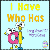 "Phonics: I Have Who Has: Focus ""ai"" Long Vowel A Word Game"