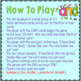 """Phonics: I Have Who Has: Focus """"and"""" Word Family Game"""