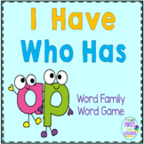 "Phonics: I Have Who Has: Focus ""ap"" Word Family Game"
