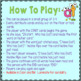"""Phonics: I Have Who Has: Focus """"at"""" Word Family Game"""