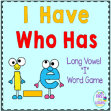 "Phonics: I Have Who Has: Focus ""i_e"" Long Vowel Word Games"