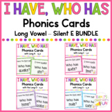 Phonics Games Long Vowel Silent E BUNDLE