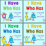 Phonics: I Have Who Has Long Vowels Bundle Focus: a_e,  i_e,  o_e,  u_e