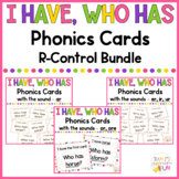 Phonics - I Have, Who Has - R-Control Vowels BUNDLE
