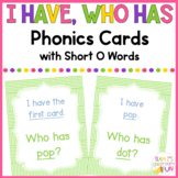 Phonics Game Short O (CVC) Words