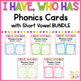 Phonics Games Short Vowel CVC Word BUNDLE