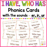 Phonics Game er, ir, ur words