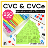 Phonics In a Flash - CVC and CVCe (Ongoing Bundle)