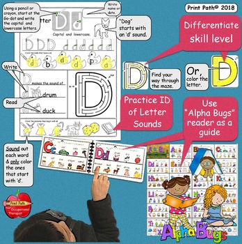 Write Now: Beginning Kinder Sounds -Worksheets