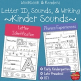 Integrated Letter ID, Phonics, Reading, Handwriting:  Daily Work & Reader