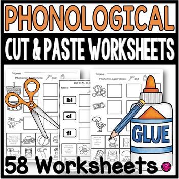 Phonological Awareness Worksheets for Emerging Readers