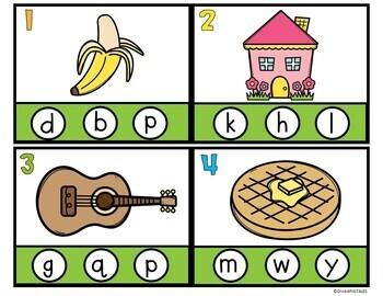 Phonemic Awareness Task Cards for Beginning Sounds