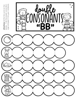 Phonics Instruction Double Consonants
