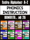 Phonics Instruction: BUNDLED