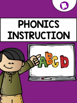 Phonics Instruction: Letter Bb