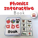 Phonics Interactive Book (a-c)