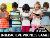 Phonics Interactive Files | DISTANCE LEARNING GOOGLE™ READY |