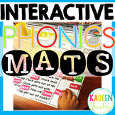 Phonics Reading Comprehension Interactive Mats All Year Bundle