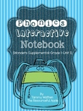 Phonics Interactive Notebook {Wonders Supplemental-Grade 1-Unit1}