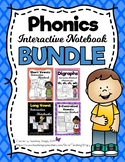Phonics Interactive Notebook BUNDLE Distance Learning