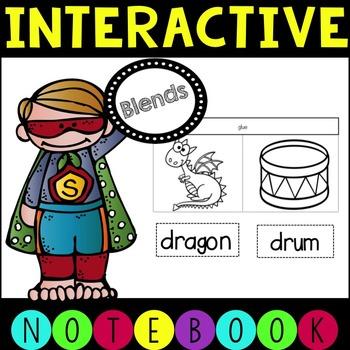 Phonics Interactive Notebook- Blends