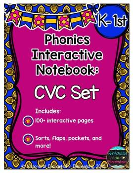 Phonics Interactive Notebook: CVC Set