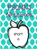 Phonics Notebook Freebie - Short A