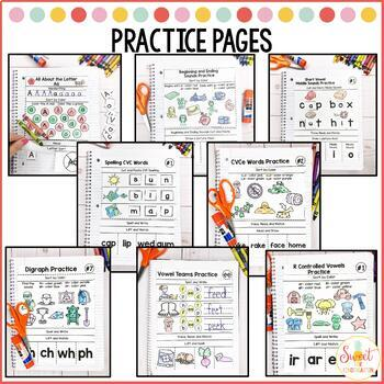 Phonics Interactive Notebook Yearlong BUNDLE