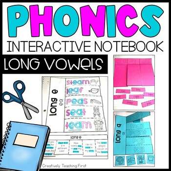 Phonics Interactive Notebook- Long Vowels