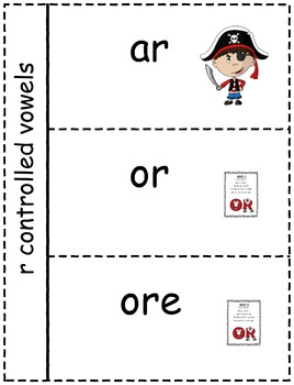 Phonics Interactive Notebook Sheets