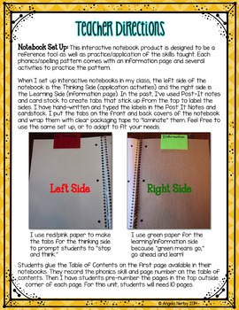 Phonics Interactive Notebook: Short Vowels