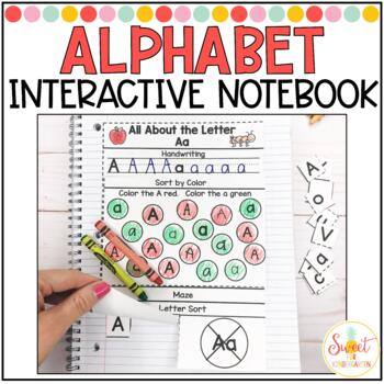 Phonics Interactive Notebook Volume 1- Letter Recognition