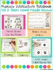Phonics Interactive Notebook Volume 3- Short Vowel Middle Sounds
