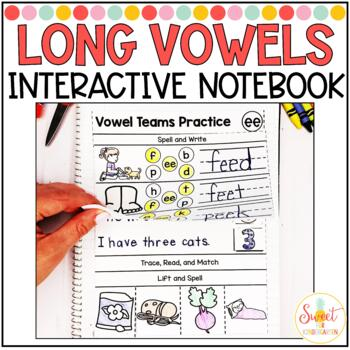Phonics Interactive Notebook Volume 7- Vowel Teams and Long Vowels