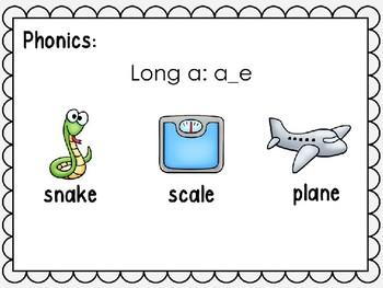 Phonics Interactive Power Point: Long a A_E