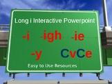 Phonics Interactive Power Point Long i