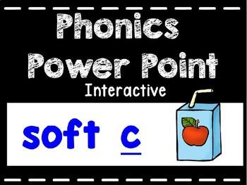 Phonics Interactive Power Point: Soft C