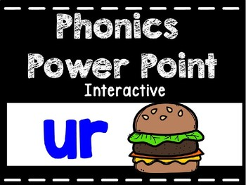 Phonics Interactive Power Point: ur