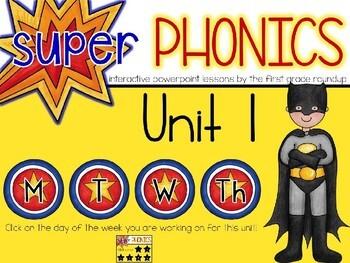 Phonics Interactive Powerpoint: FREEBIE