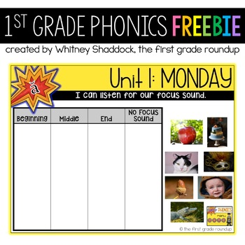 Phonics Interactive Powerpoint: FREEBIE
