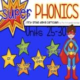 Phonics First Grade Digital Curriculum Units 25-30 BUNDLE