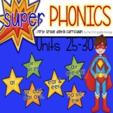 Phonics First Grade Digital Curriculum Units 25 to 30 BUNDLE