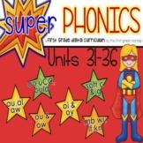 Phonics First Grade Digital Curriculum Units 31-36 BUNDLE
