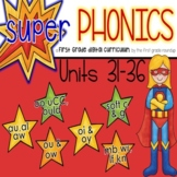 Phonics First Grade Digital Curriculum Units 31 to 36 BUNDLE
