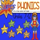 Phonics Curriculum Interactive Powerpoint:Units 7-12 (Initial and Ending Blends)