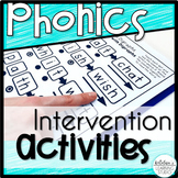 Phonics Intervention | Phonics Intervention Binder