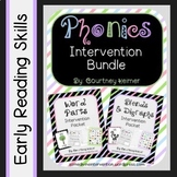 Phonics Intervention Bundle {Word Parts and Blends & Digraphs}