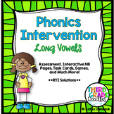 Phonics Intervention Bundle -- Long Vowel Patterns