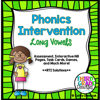 Phonics Intervention Bundle -- Long Vowel Patterns