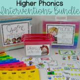 Phonics Intervention Bundle for Independent Readers - Higher Phonics